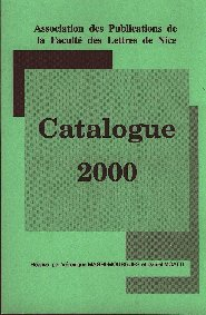 Catalogue 2000