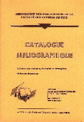 Catalogue Bibliographique